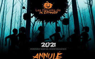 [Décalés de la Citrouille 2021] – Annulation